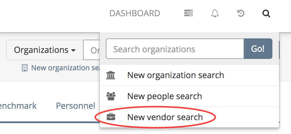 Cause IQ's vendor search