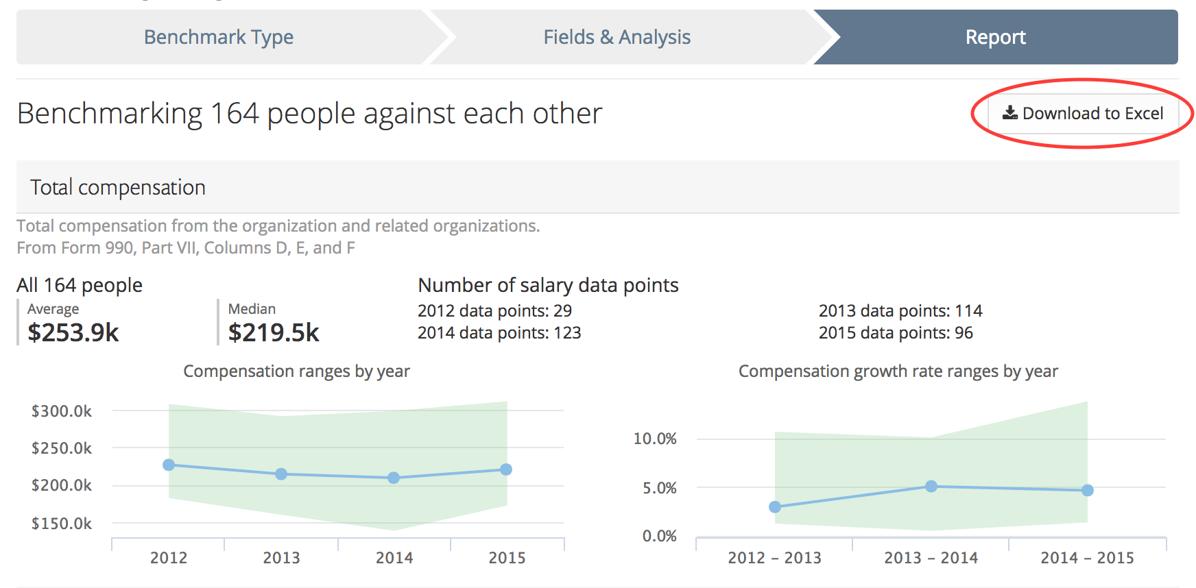 Download your benchmarked compensation Excel file