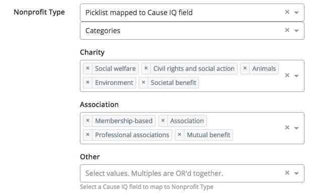 Salesforce picklist mapping